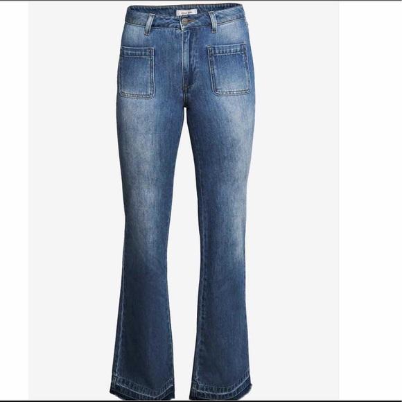 Anine Bing Front Pocket Flare Jeans